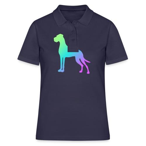 Grüne Dogge - Frauen Polo Shirt