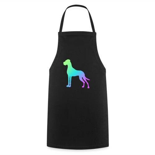 Grüne Dogge - Kochschürze