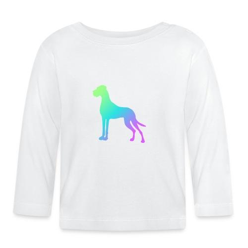 Grüne Dogge - Baby Langarmshirt
