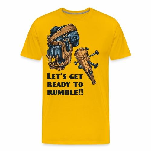 Let´s ready ... - Männer Premium T-Shirt