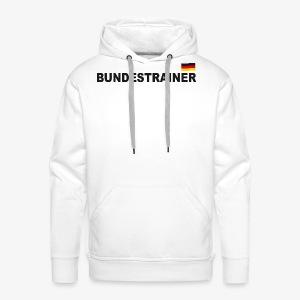 Bundestrainer Deutschland Sport T-Shirt Fußball Trikot - Männer Premium Hoodie