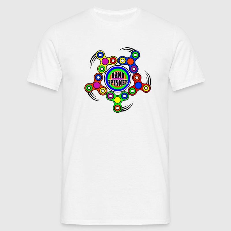 Hand spinner 01 - T-shirt Homme