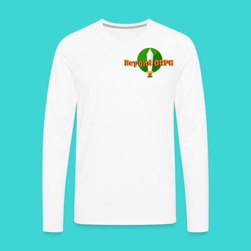 Beyond Logo Shirt - Men's Premium Longsleeve Shirt