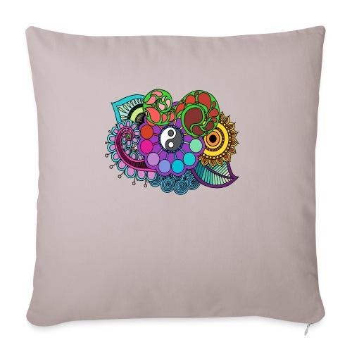 Colour Nature Mandala - Sofa pillowcase 17,3'' x 17,3'' (45 x 45 cm)