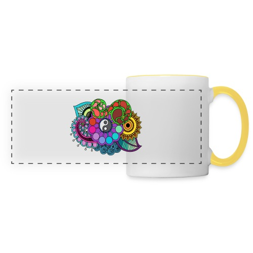 Colour Nature Mandala - Panoramic Mug