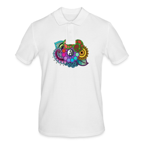 Colour Nature Mandala - Men's Polo Shirt