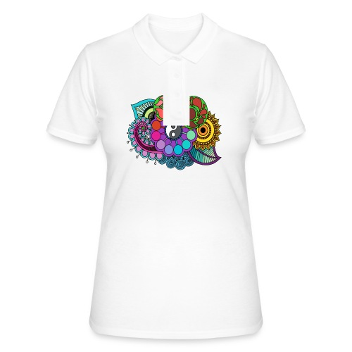 Colour Nature Mandala - Women's Polo Shirt