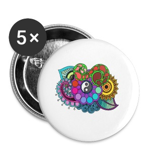 Colour Nature Mandala - Buttons small 25 mm