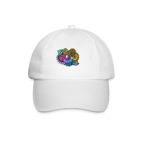 Colour Nature Mandala - Baseball Cap