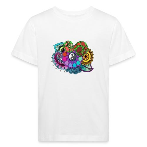 Colour Nature Mandala - Kids' Organic T-Shirt