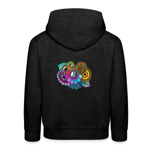 Colour Nature Mandala - Kids' Premium Hoodie