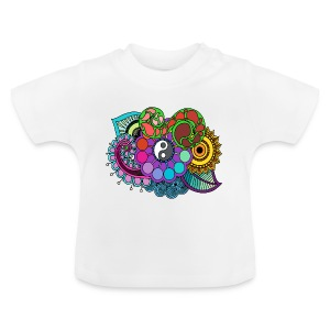 Colour Nature Mandala - Baby T-Shirt