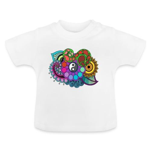 Colour Nature Mandala - Baby T-Shirt