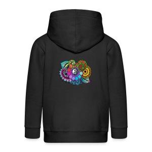 Colour Nature Mandala - Kids' Premium Zip Hoodie