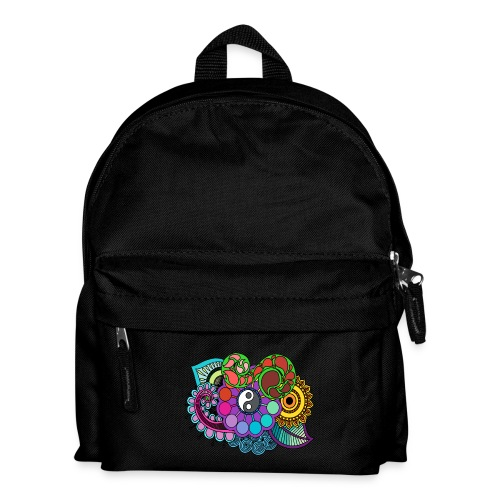 Colour Nature Mandala - Kids' Backpack