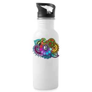 Colour Nature Mandala - Water Bottle
