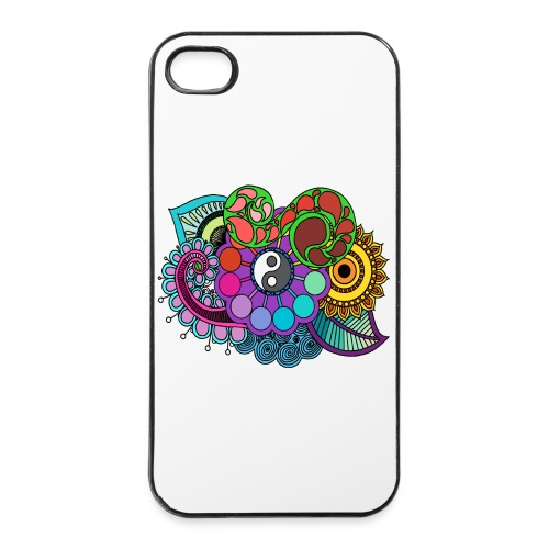 Colour Nature Mandala - iPhone 4/4s Hard Case