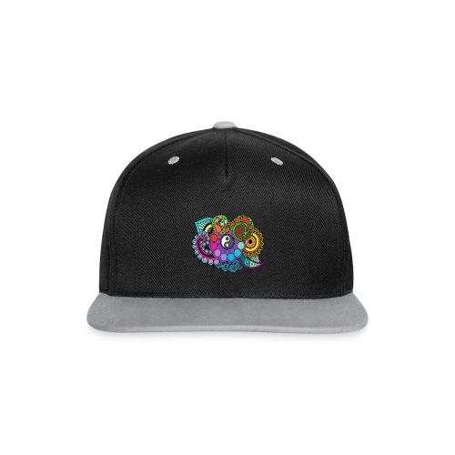 Colour Nature Mandala - Contrast Snapback Cap