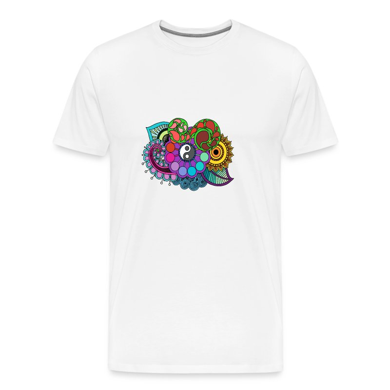 Colour Nature Mandala - Men's Premium T-Shirt