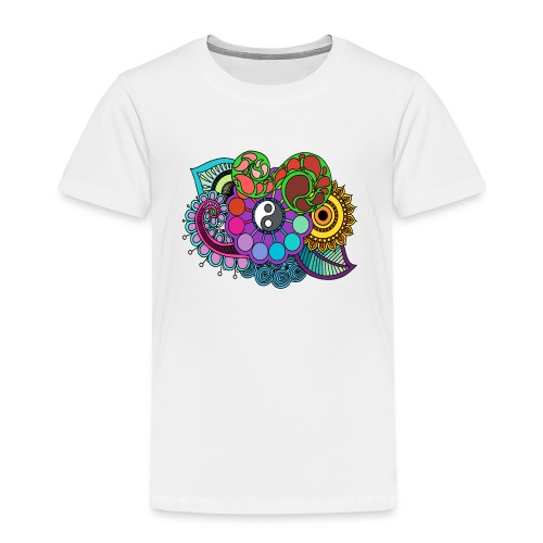 Colour Nature Mandala - Kids' Premium T-Shirt
