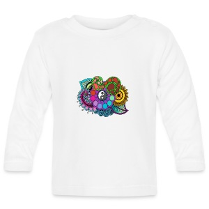 Colour Nature Mandala - Baby Long Sleeve T-Shirt