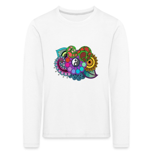 Colour Nature Mandala - Kids' Premium Longsleeve Shirt