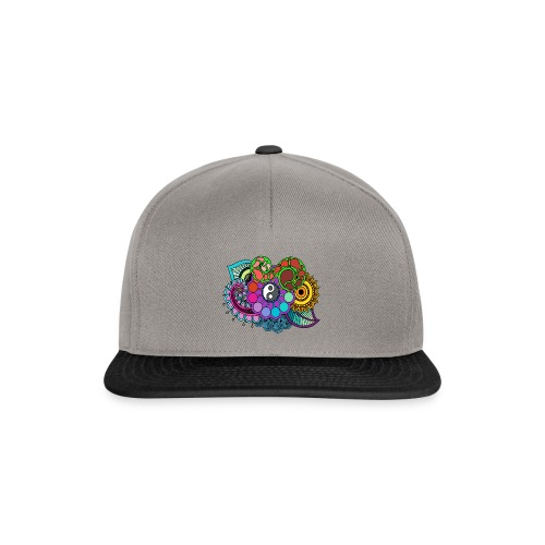 Colour Nature Mandala - Snapback Cap
