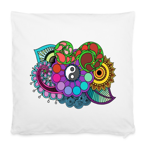 Colour Nature Mandala - Pillowcase 40 x 40 cm