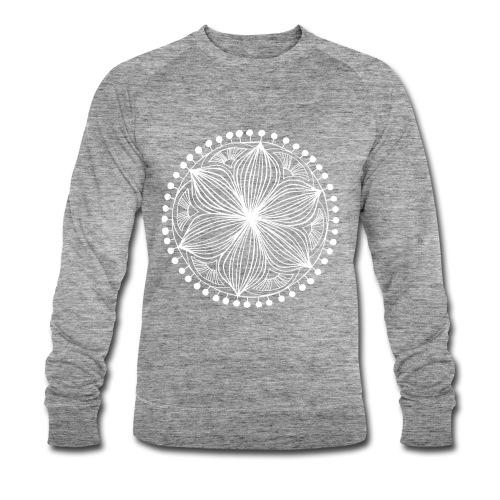 White Frankie Mandala - Men's Organic Sweatshirt by Stanley & Stella