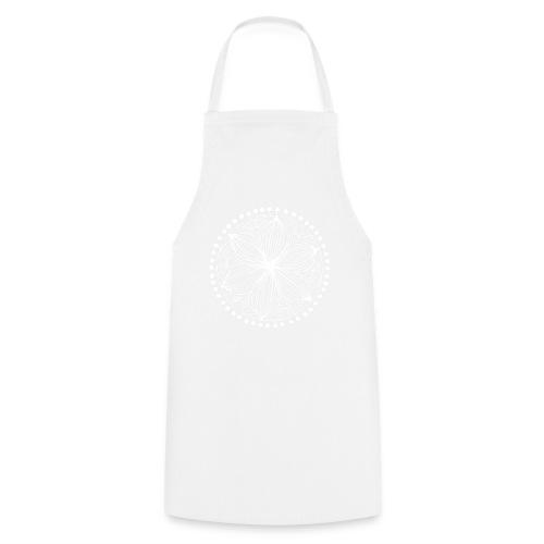 White Frankie Mandala - Cooking Apron