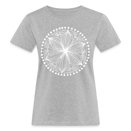White Frankie Mandala - Women's Organic T-Shirt