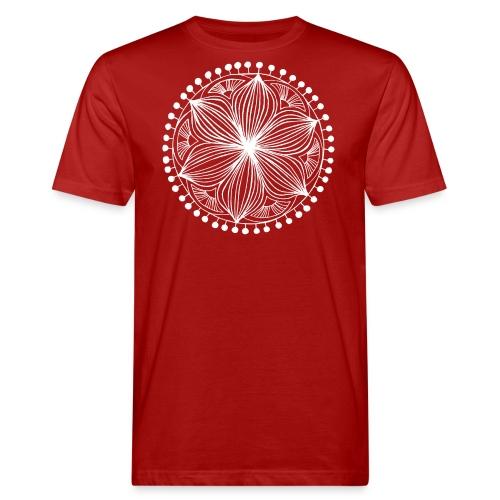 White Frankie Mandala - Men's Organic T-Shirt