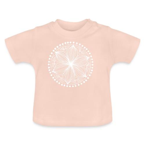 White Frankie Mandala - Baby T-Shirt