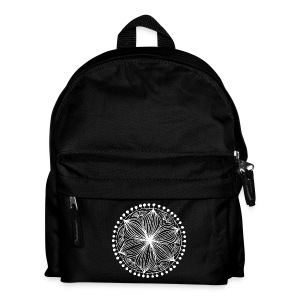 White Frankie Mandala - Kids' Backpack