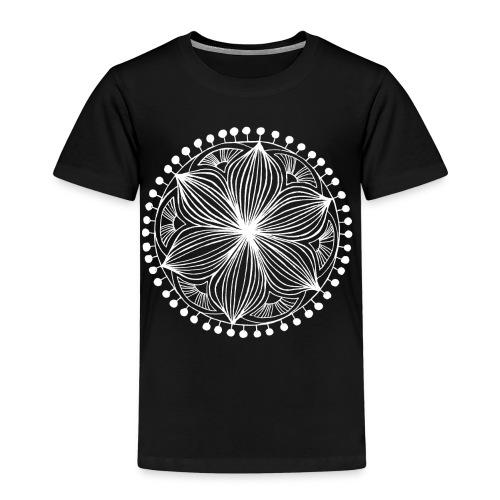 White Frankie Mandala - Kids' Premium T-Shirt