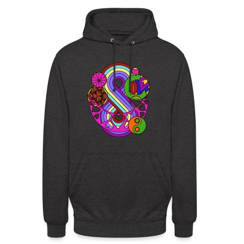 Colour Love Mandala - Unisex Hoodie