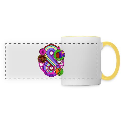 Colour Love Mandala - Panoramic Mug