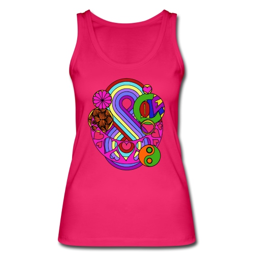 Colour Love Mandala - Women's Organic Tank Top by Stanley & Stella