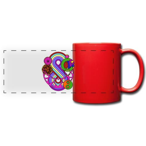 Colour Love Mandala - Full Color Panoramic Mug