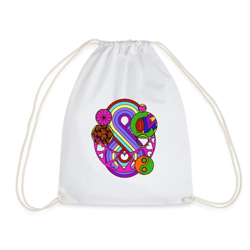 Colour Love Mandala - Drawstring Bag