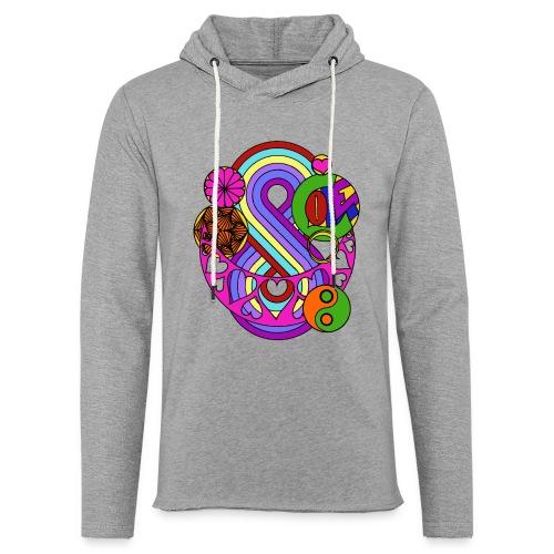 Colour Love Mandala - Light Unisex Sweatshirt Hoodie