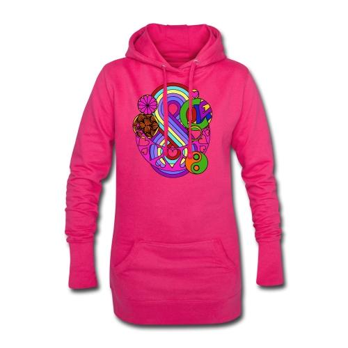Colour Love Mandala - Hoodie Dress