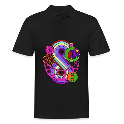 Colour Love Mandala - Men's Polo Shirt