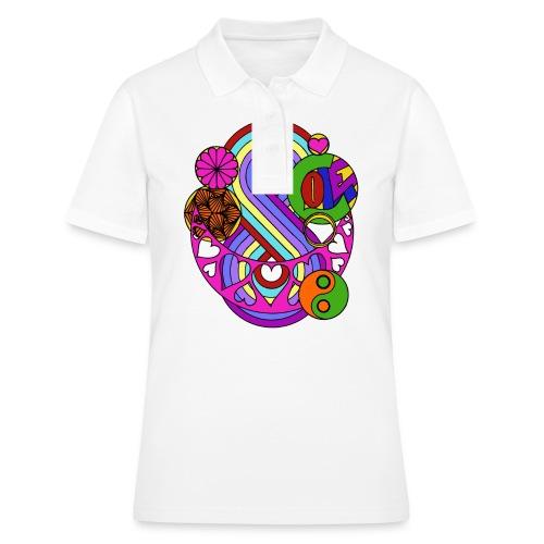 Colour Love Mandala - Women's Polo Shirt