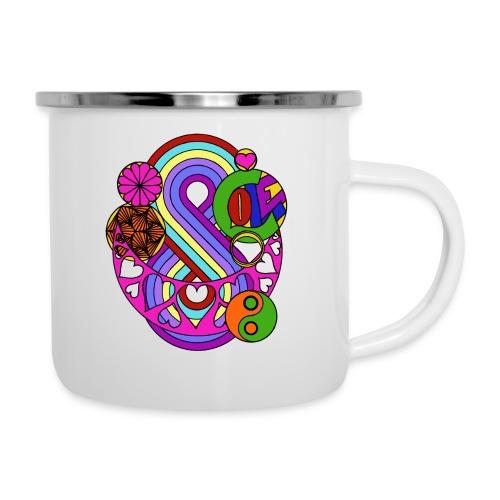 Colour Love Mandala - Camper Mug
