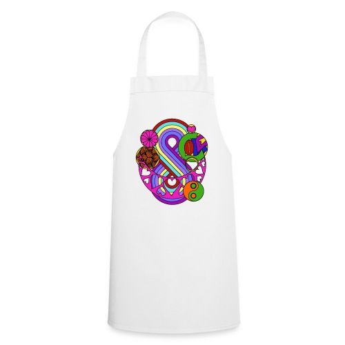Colour Love Mandala - Cooking Apron