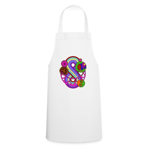Colour Love Mandala - Cooking Apron
