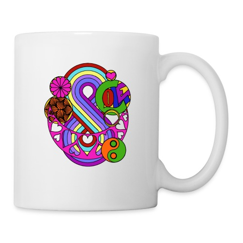 Colour Love Mandala - Mug