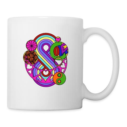 Colour Love Mandala - Mug