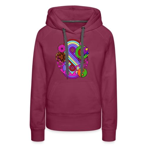 Colour Love Mandala - Women's Premium Hoodie